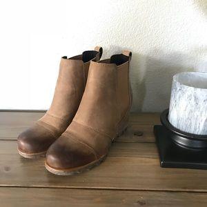 10c19f54164 Sorel Shoes - Sorel Lea wedge ankle bootie - Elk